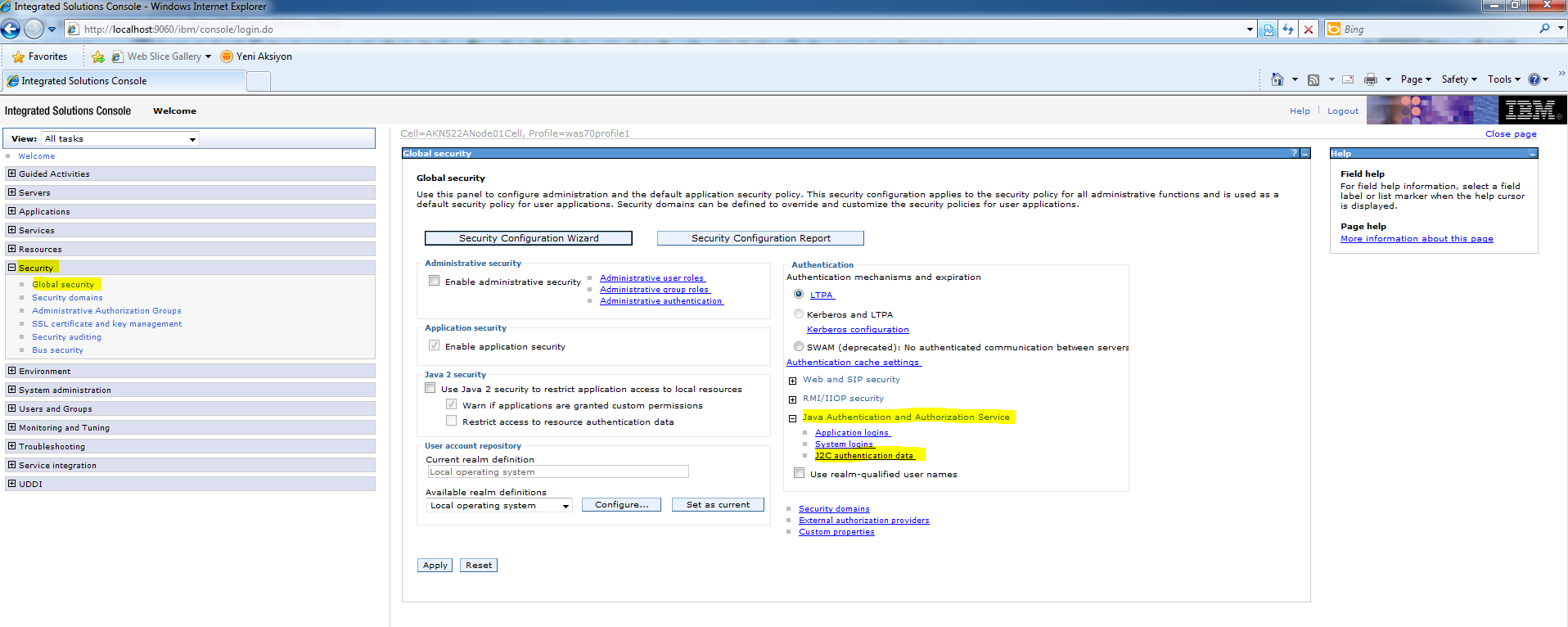 how to create data source in websphere
